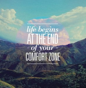Life begins at the end of your comfort zone. Let's Get Gutsy together.