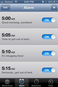 Do you want to become a morning person? Here are five simple tips for waking up early.