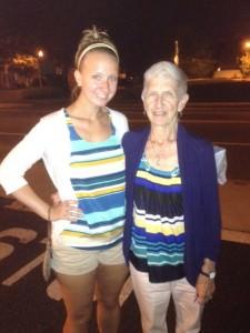 Grandmom and Jessica