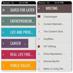 Feedly Mobile Version