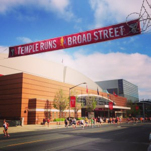Broad Street Run at Temple University