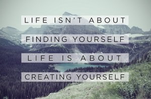 Stop trying to find yourself