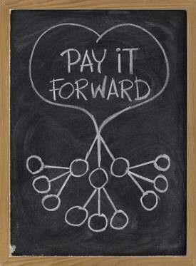 pay it forward- Jessica Lawlor