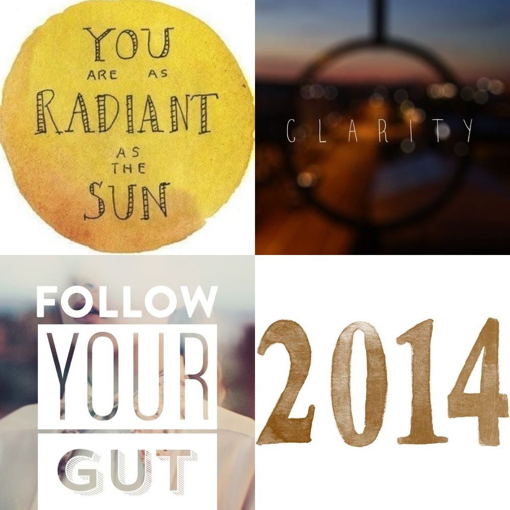 Three words for 2014