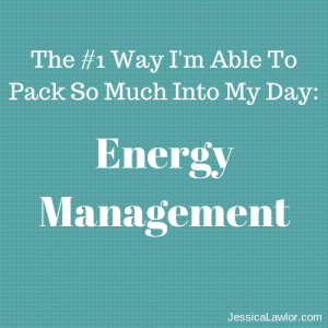 energy management- Jessica Lawlor