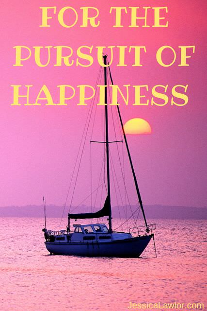 pursuit of happiness- Jessica Lawlor