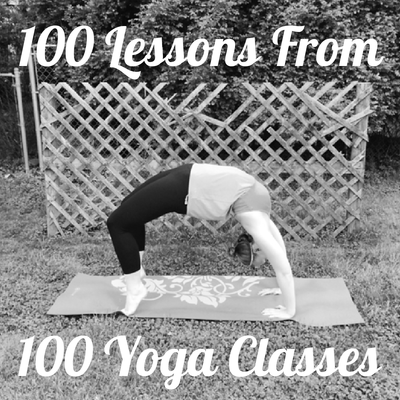 100 lessons from 100 yoga classes