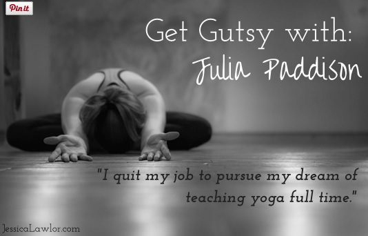Get Gutsy With Julia Paddison