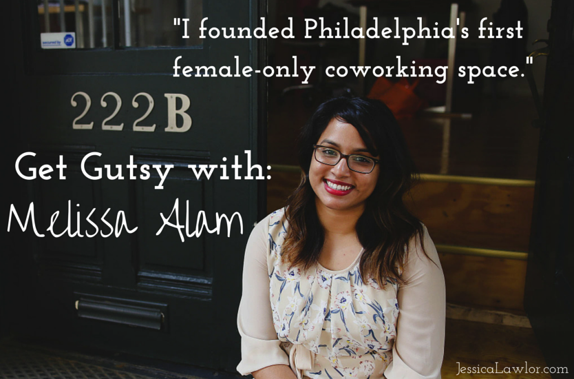 get gutsy with Melissa Alam- Jessica Lawlor