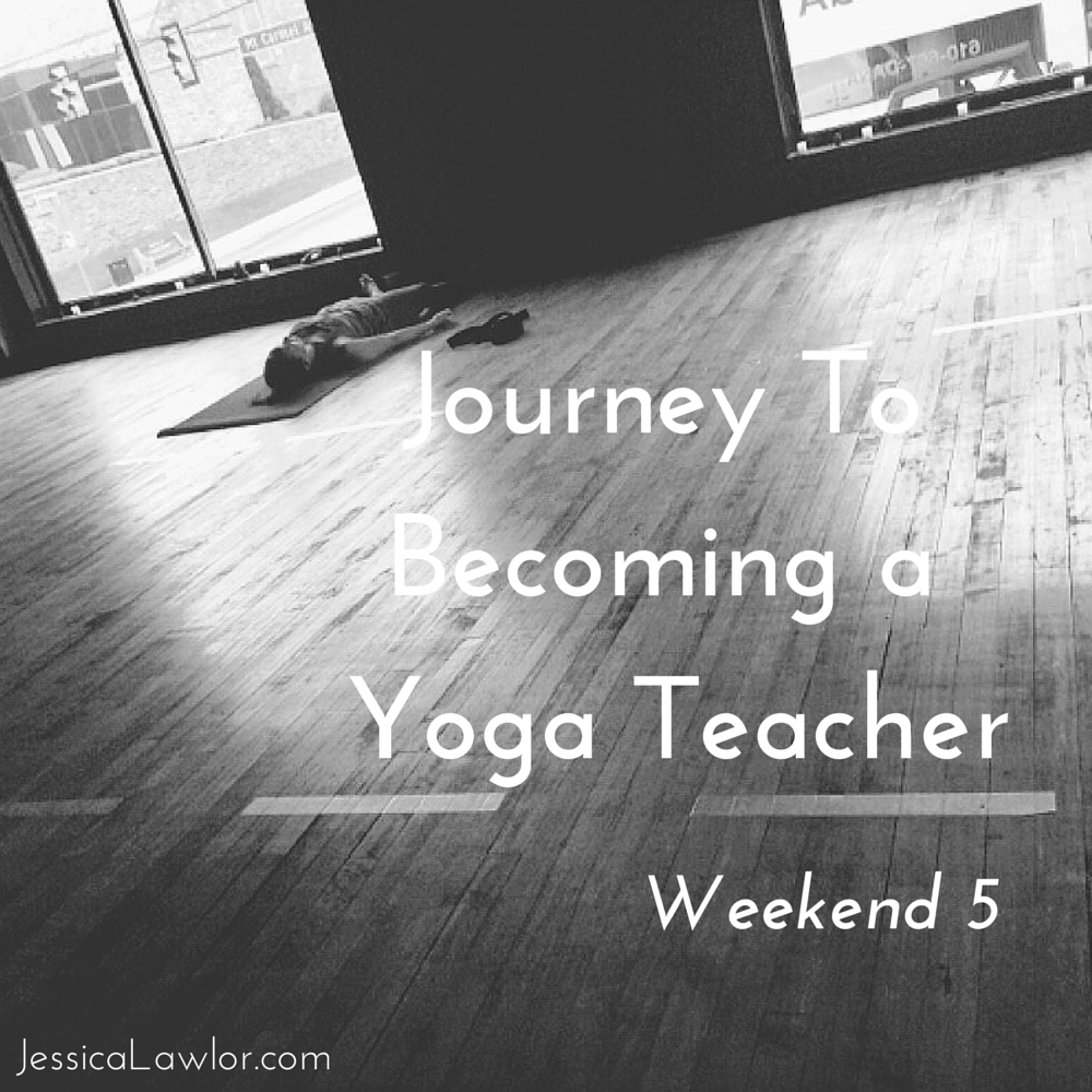 becoming a yoga teacher- Jessica Lawlor