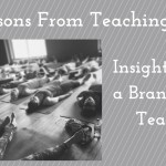 25 Lessons From Teaching My First 25 Yoga Classes