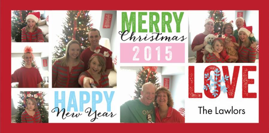 a very merry selfie christmas-Jessica Lawlor