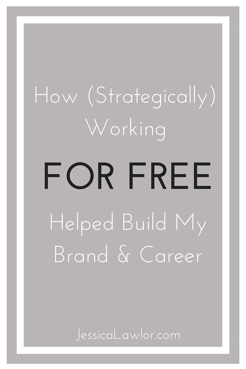 working for free-Jessica Lawlor