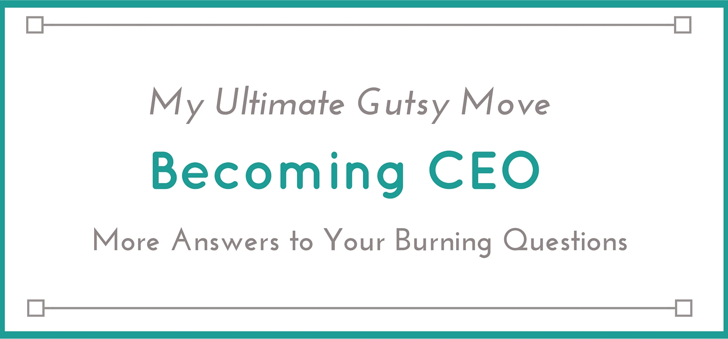 becoming CEO- Jessica Lawlor
