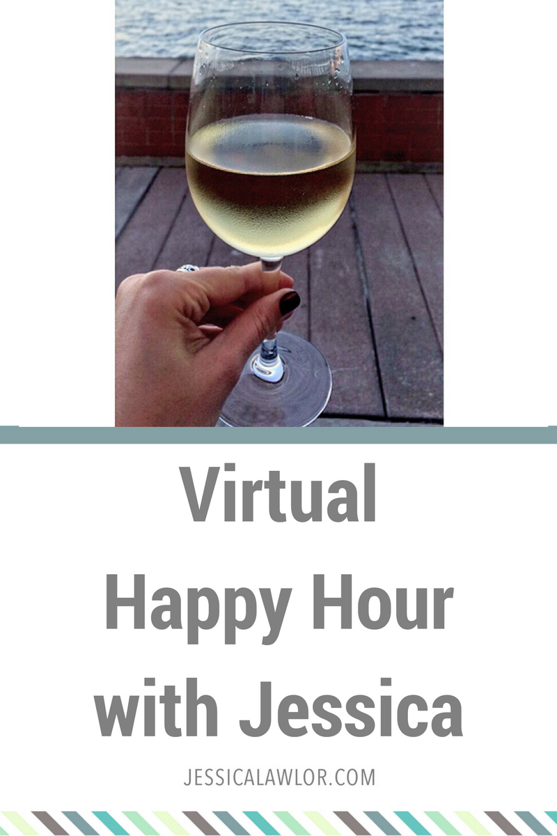 Cheers, friends! Let's settle in for a virtual happy hour. Here are all the random little life tidbits I'd share with you if we were at happy hour together.