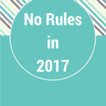 No Rules for 2017