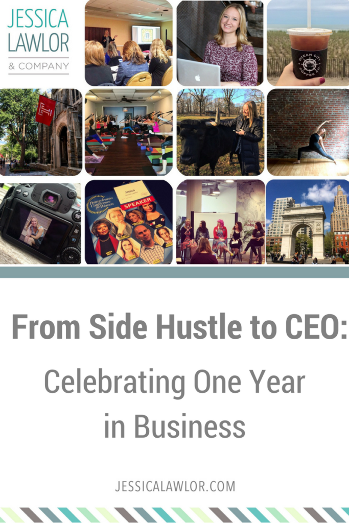 A year ago, I took a giant leap into the unknown when I quit my 9-5 job to turn my side hustle into a business. Read on for an in-depth look at how it went.