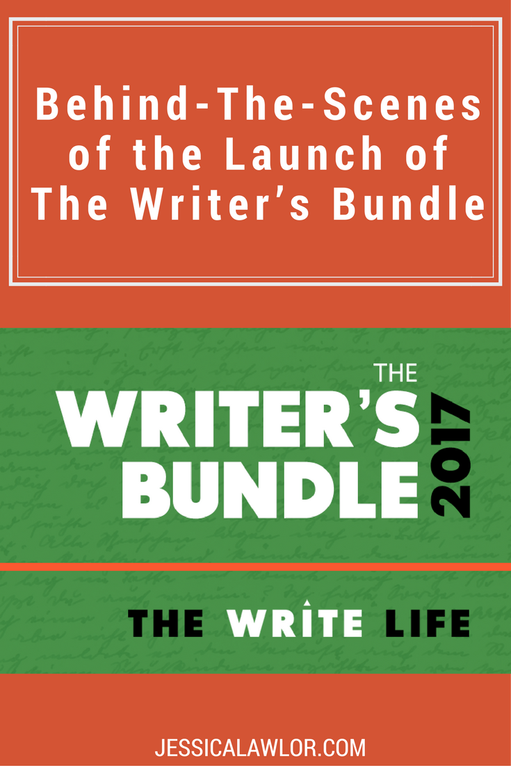 The Writer's Bundle, a flash sale from The Write Life, is here! Here's a detailed behind-the-scenes look at how I helped coordinate this massive project.