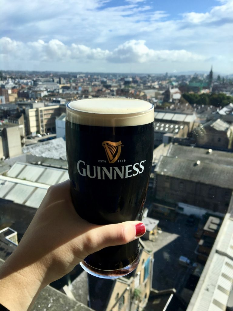Take in the views at the Guinness Storehouse-- 5 must-have experiences when visiting Ireland