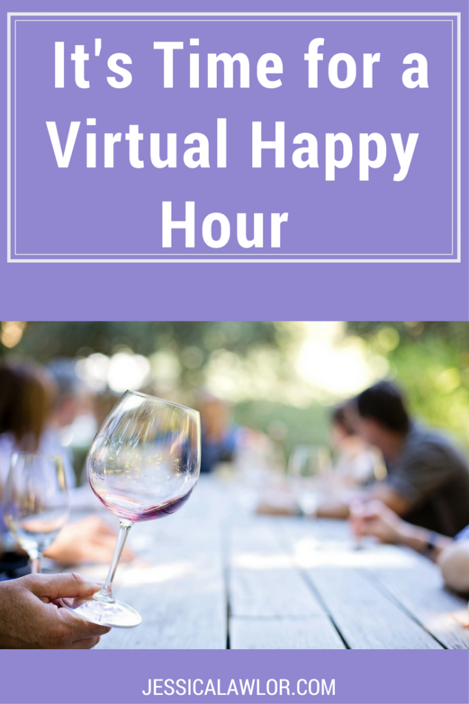 It's time for a virtual happy hour! Here are all the random little life tidbits I'd share with you if we were chatting over a glass of wine.