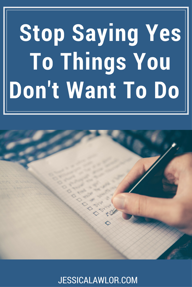 Are you guilty of saying yes to things you don't want to do? Me too. However, I'm learning to say no, and here's how it's benefitting my business and life.