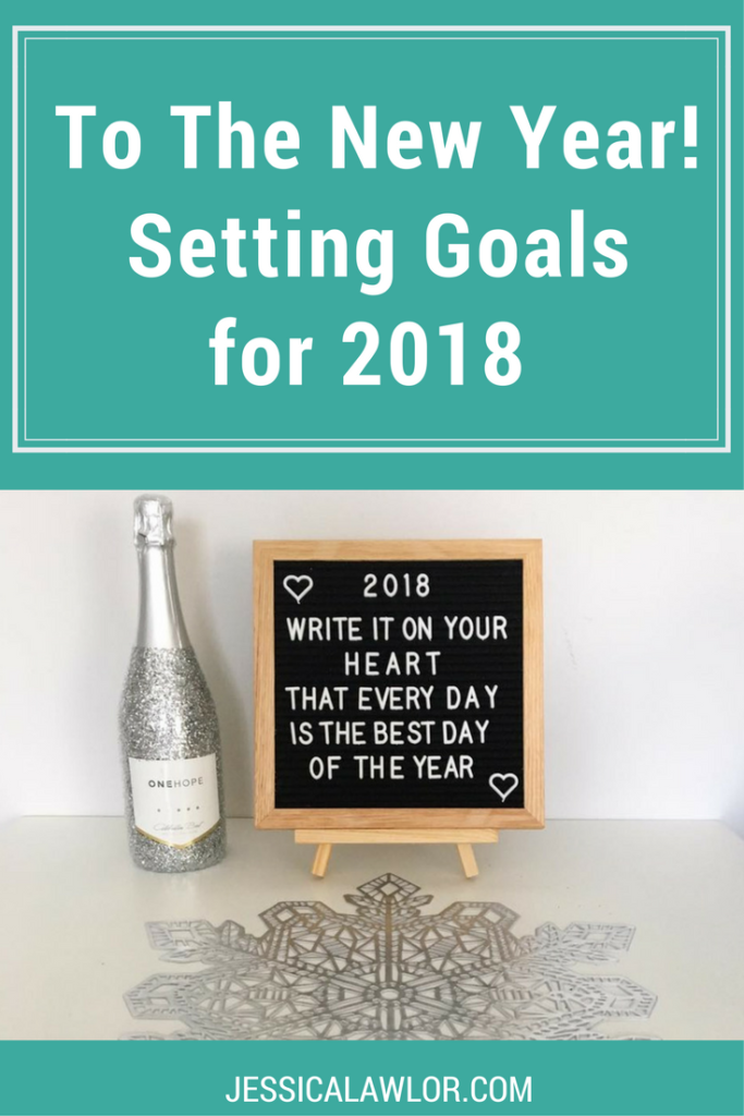 For years, I've been back and forth on my stance on new year's resolutions. This year though, I felt a pull to set some big goals. Here are my blog, business and personal goals for 2018.