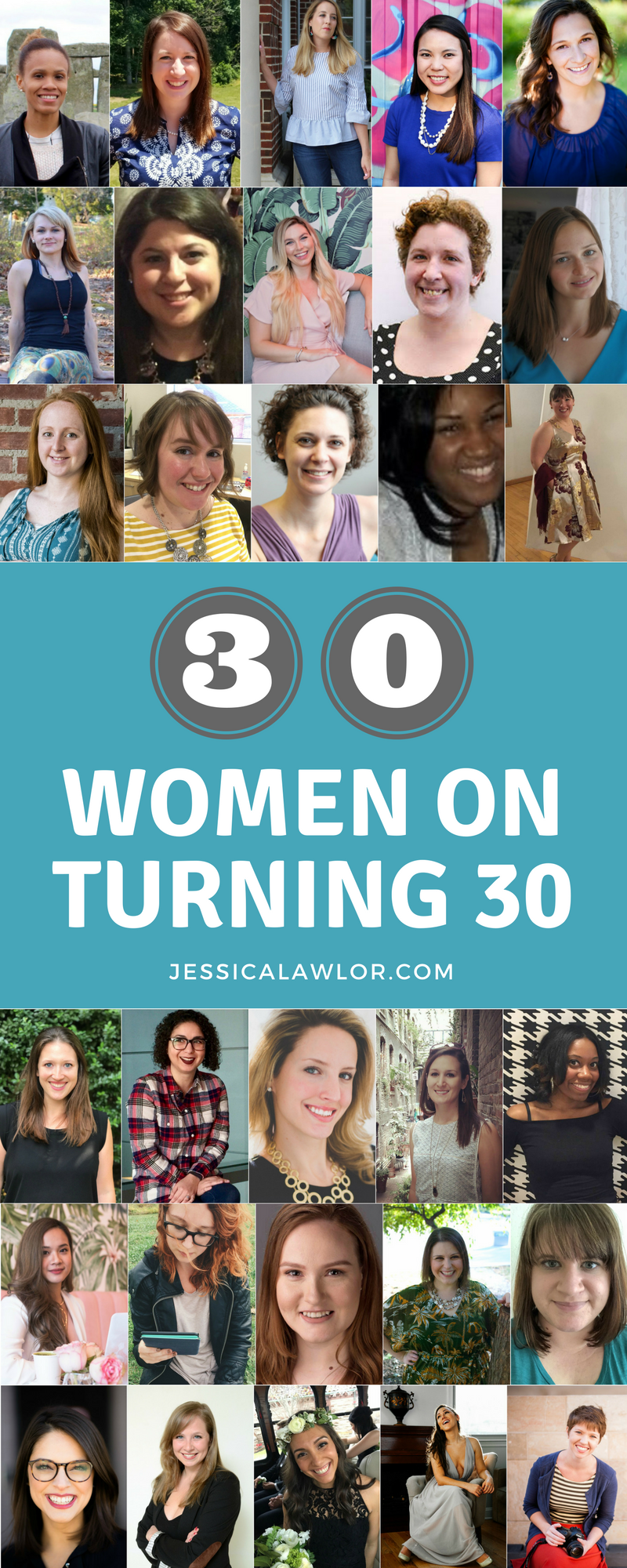 Anxious about turning 30? Be inspired by these words of wisdom from 30 women who've been there and say the best is yet to come.