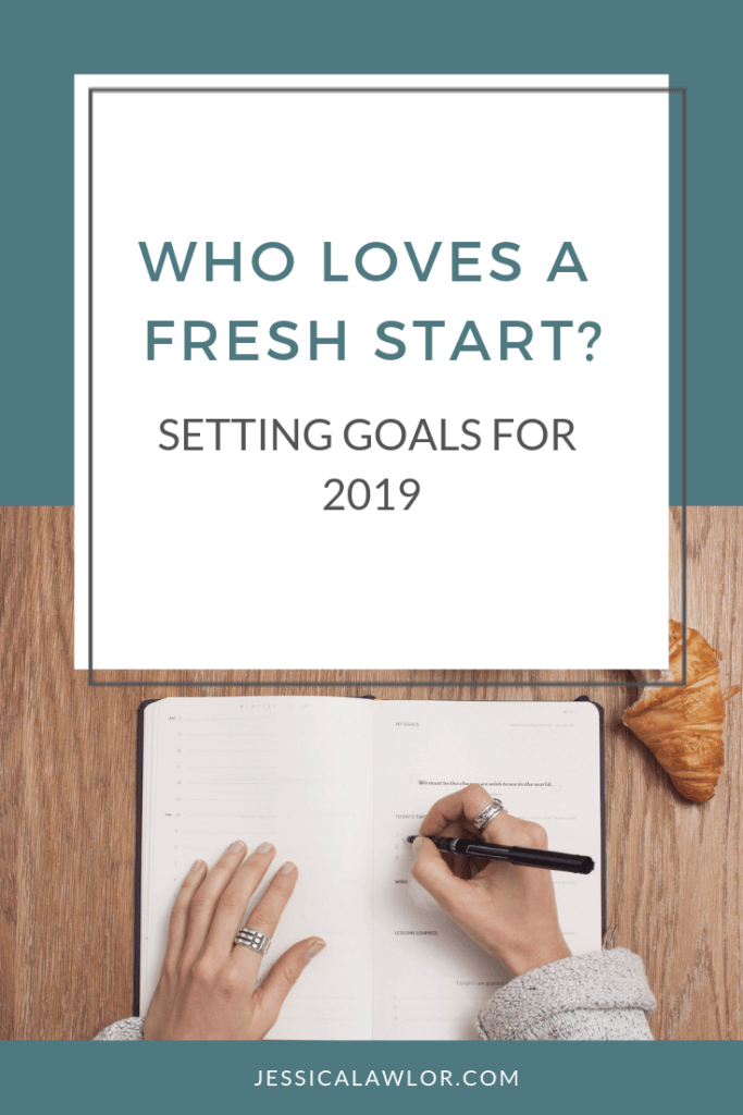 The start of a new year is a fantastic opportunity to re-evaluate, check in and prioritize for the coming year. Let's talk about setting goals for 2019.