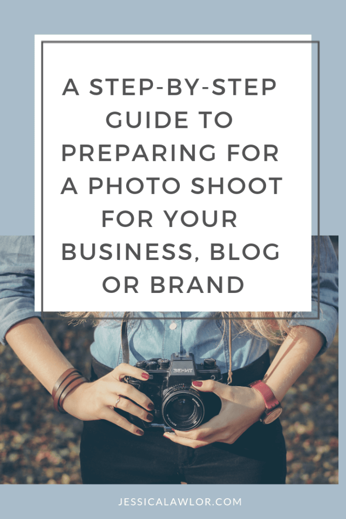 Need new photos for your business, blog or brand? Here's how to prepare for a photo shoot, with expert tips from a professional photographer.